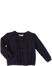 Angel Dear Harborside Cardigan Navy Heather 6 12 Months