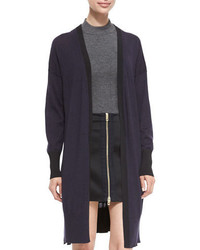 Rag & Bone Jessica Long Open Front Cardigan