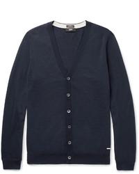 Hugo Boss Mardon Slim Fit Virgin Wool Cardigan