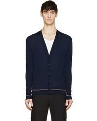 Moncler Navy Knit Cardigan