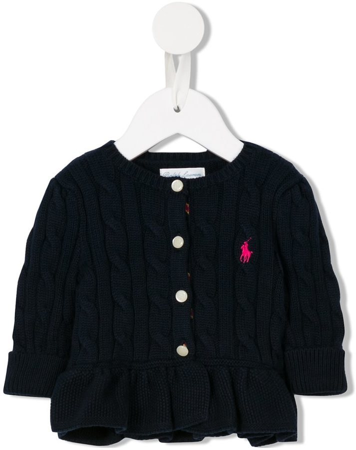 Ralph Lauren Kids Cable Knit Cardigan