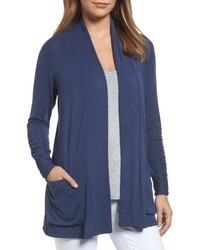 Ruched sleeve cardigan medium 5169695