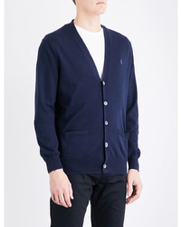 Polo Ralph Lauren V Neck Cotton Jersey Cardigan