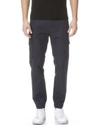 Kenzo Cotton Linen Cargo Pants