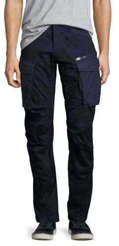 387f9cc5bdd3 ... G Star G Star Rovic 3d Tapered Cargo Pants Blue Camo ...