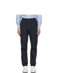 MSGM Navy Cargo Pants