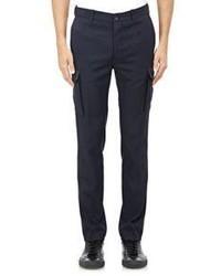 Vince Twill Cargo Pants Blue