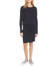 James Perse Blouson T Shirt Dress