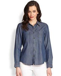 Classic chambray shirt medium 78738