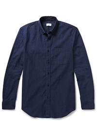 Navy Chambray Dress Shirt