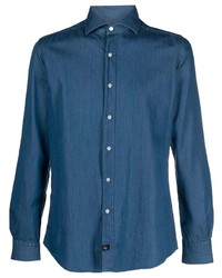 Fay Button Down Fitted Shirt