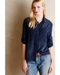 Laura Lee Jewellery Cloth Stone Lauralee Chambray Shirt