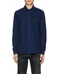 Orlebar Brown Anderson Cotton Chambray Shirt