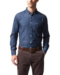 2c868b37503 Dockers Button Down Chambray Shirt Out of stock · Dockers Docker Global  Online