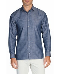 Alton Lane Mason Everyday Chambray Button Up Shirt