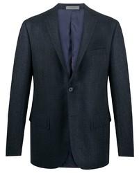 Corneliani Checked Single Breasted Blazer