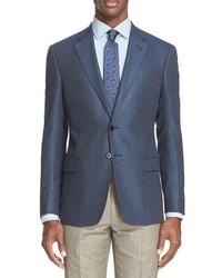 G line trim fit check sport coat medium 756672