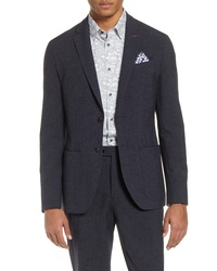 Ted Baker London Groove Slim Fit Mini Check Sport Coat
