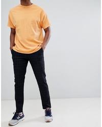 Jack & Jones Trousers In Slim Tapered Fit Grid Check Blazer