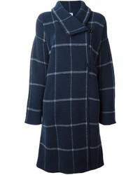 Armani collezioni checked single breasted coat medium 775401