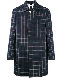 Thom Browne Check Embroidered Coat