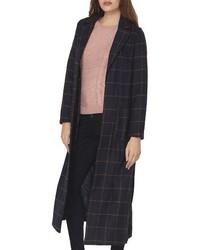 Check maxi coat medium 1151268