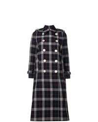Gucci Checked Double Breasted Coat