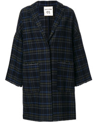 Semicouture checked coat medium 4979253