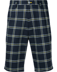 GUILD PRIME Nautical Checked Shorts