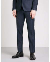 Thomas Pink Burford Checked Slim Fit Wool Trousers