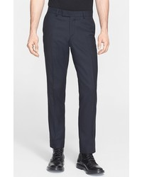 The Kooples Check Wool Cotton Trousers
