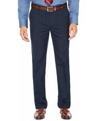 JF J.Ferrar Checked Stretch Super Slim Fit Suit Pants