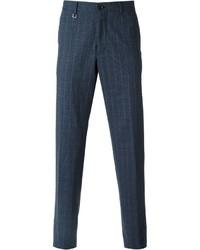 Ermenegildo Zegna Check Pattern Tailored Trousers