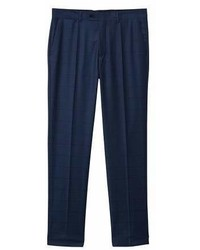 Mango Man Mango Man Slim Fit Check Suit Trousers