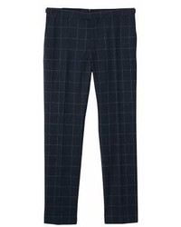 Mango Man Mango Man Slim Fit Check Wool Suit Trousers
