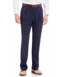 Ralph Ralph Lauren Pleated Checked Dress Pants