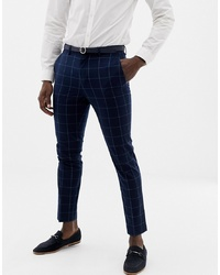 ONLY & SONS Slim Checked Suit Trouser
