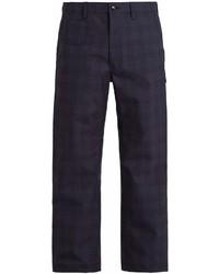 Junya Watanabe X Carhartt Checked Wool Trousers