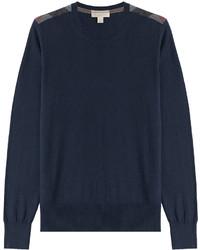 Burberry Brit Cashmere Cotton Pullover