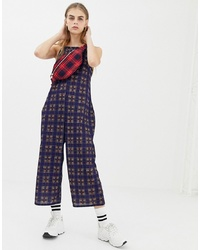 19339a5c48e2 ... Daisy Street Cami Jumpsuit In Vintage Check Check