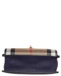 ad93c337189 ... Burberry Small Macken House Check Crossbody Bag Blue ...