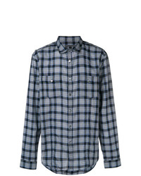 John Varvatos Check Shirt