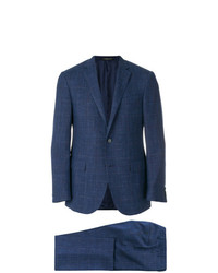 Corneliani Checked Two Piece Suit