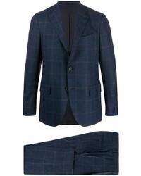 Lardini Two Piece Check Suit