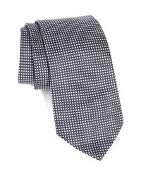 Emporio Armani Plaid Silk Tie