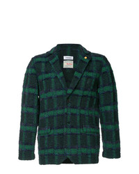 Coohem Checked Tweed Blazer