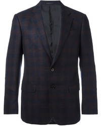 Armani Collezioni Checked Suit Jacket