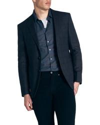 Rodd & Gunn Farnham Regular Fit Windowpane Wool Sport Coat