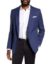 BOSS Fit Windowpane Wool Sport Coat