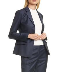 BOSS Jatinda Glen Check Wool Suit Jacket
